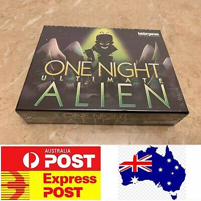 One Night Ultimate Alien, Excellent Party Board Game, AU Stock, Express Post
