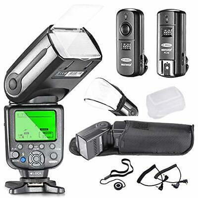 Neewer® NW565EX Professional E-TTL Slave Flash Speedlite Kit for Canon DSLR