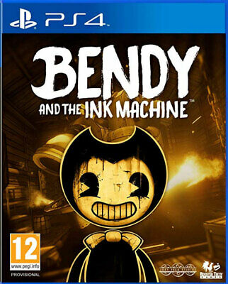 Bendy and the Ink Machine (PS4) BRAND NEW AND SEALED - IN STOCK - QUICK DISPATCH