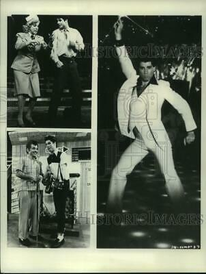 1978 Press Photo Actor John Travolta in some of his stage and screen roles