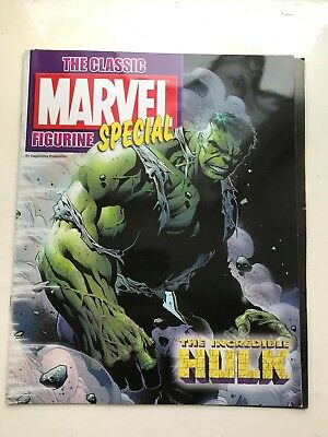 Official Marvel Figure Collection Special Issue The Hulk Eaglemoss Magazine Only