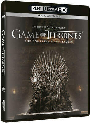 Game of Thrones 1st First Season 1 4K UltraHD NEW