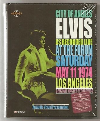 Elvis Presley Book 2 Cd City Of Angels - At The Forum May 11 1974 2015 Audionics