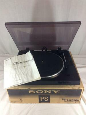 Sony PS-LX250H Fully Automatic Stereo Turntable System