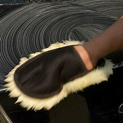 Automobile Window Cleaning Microfiber Cloth Glove Car Wash Cleaning Supplies