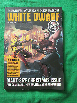White Dwarf - Warhammer - Games Workshop Magazine - December 2017