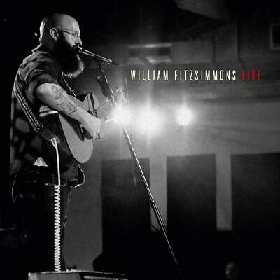 WILLIAM FITZSIMMONS Live (Limited-Edition) (Digipak)  CD   NEU & OVP 03.05.2018