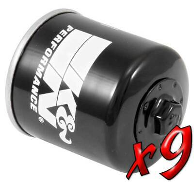 9 Pack: Oil Filters -NEW DESIGN- Spin-On Pro Series