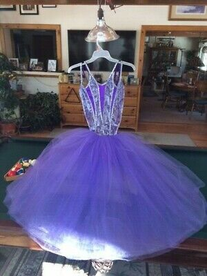 f4db3c3e60 ADULT WOMEN'S DANCING Tutu Layered Cosplay Rainbow Bustle Party ...