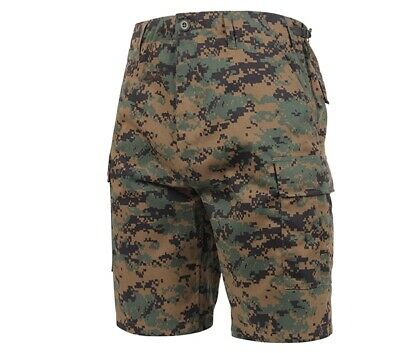 Rothco Woodland Digital Camo BDU Shorts - 65412