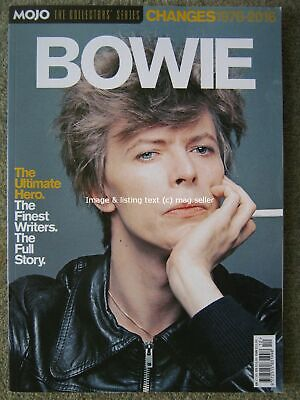 David Bowie Changes 1976 - 2016 Mojo The Collectors' Series Moby Blackstar