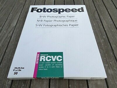 Fotospeed RC VC (Oyster) 24 x 30.5cm (9½ x 12in) 42 sheets