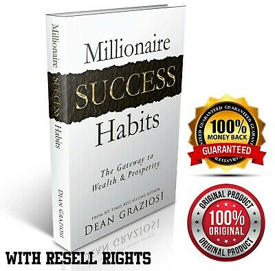 Millionaire Success Habits e Book Way your success Free Shipping Resell Rights