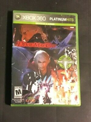 Devil May Cry 4 (Microsoft Xbox 360, 2008)    .. CLEAN TESTED