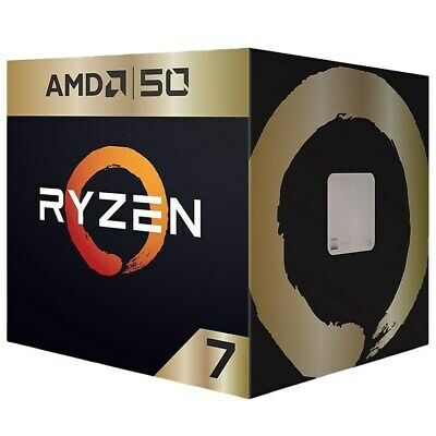 AMD Ryzen 7 2700X 8 Core AM4 3.7GHz CPU Processor - AMD 50th Anniversary Edition
