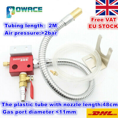 【EU】Cooling Metal Water Pipe Mist Coolant Lubrication Spray System for CNC Lathe