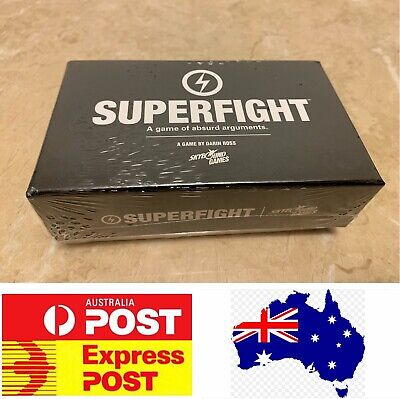Fantastic Board Game For Youth And Adult: Superfight