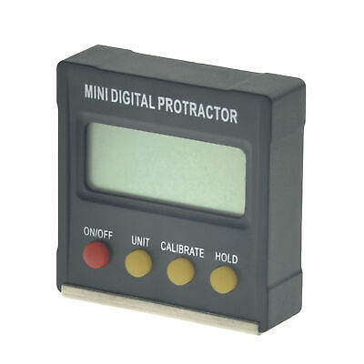 Mini LCD Digital Protractor Gauge Angle Finder Inclinometer Magnetic Level Box