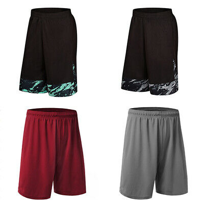 Mens Boys Outdoor Basketball Sports Fitness Gym Training Shorts Pants Trouers AU