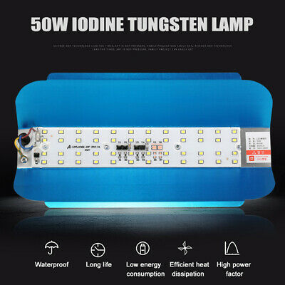 50W LED Outdoor Garden Landscape Iodine Tungsten Flood Light/ Lamp Waterproof