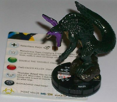 Raiju 008 Pacific Rim Movie Wizkids Heroclix Kaiju Monster 5 46 Picclick Uk Raijū (雷獣, thunder animal or thunder beast) is a legendary creature from japanese mythology. picclick uk