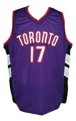 ff0bb30ad P. Miller  17 Toronto Custom Basketball Jersey Sewn - Any Size