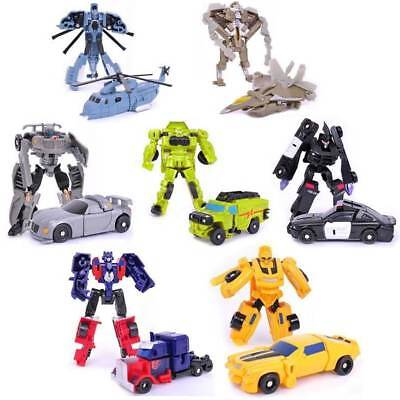 Kids Transformers Robot Car Action Figures Classic Custom Toys Child Boys Gift