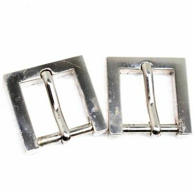 SOLID MINI 30mm Shinny Stainless Steel BELT STRAP WEST END BUCKLE