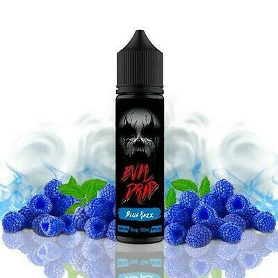 E-liquid EVIL DRIPP Blue Razz  50ml - 0mg - vaper ejuice ecig