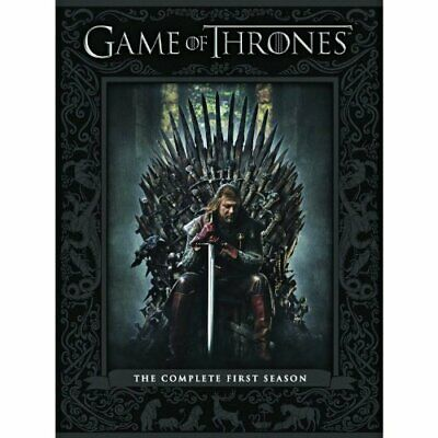 Game Of Thrones: The Complete First Season DVD On DVD With Harry Lloyd E34