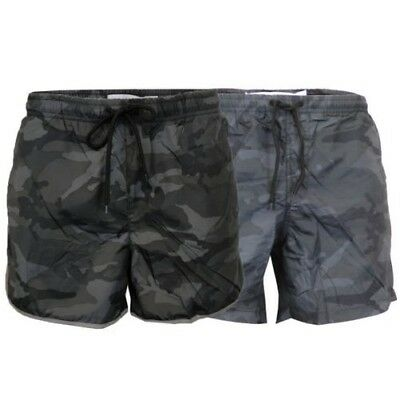 14bf8a513e Mens Camo Swim Shorts Brave Soul Melbourne Military Conrad Reflective  Summer New