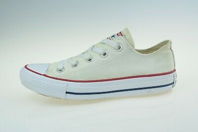 Converse Chuck Taylor All Star OX White M7652C Women's Trainers Size UK 3