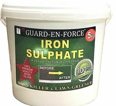 5KG IRON SULPHATE LAWN TONIC & MOSS KILLER  (Dilutes to 1,000-5,000 Litres)