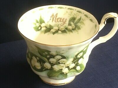 Royal Albert Flowers Of The Month May  tea cup (second)
