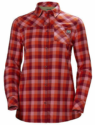 HH Helly Hansen Lokka LS Shirt Women 62875 plum plaid Damen Shirt Damenhemd