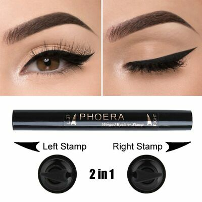 2in1 Eyeliner Pencil Cat Eye Makeup Sexy Liners Double-end Winged Eyeliner Stamp