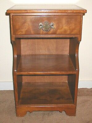 Antique Ethan Allen Early American Maple Birch Nightstand Endtable 10 5046