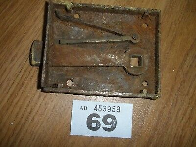 Antique Iron  Door  Lock