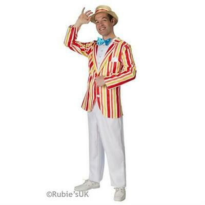 Mens Disney Bert Jolly Holiday Mary Poppins Fancy Dress Costume