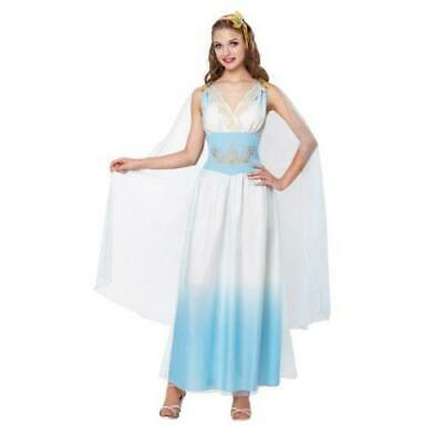 Ladies Greek / Roman Empress Fancy Dress Costume - carnival fiestas