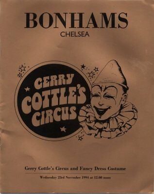 Gerry Cottle's Circus and Fancy Dress Costume Catalogue