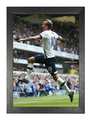 Harry Kane 8 English Footballer Tottenham Hotspur Poster Sport Quote Court Print