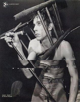 Iggy Pop by Chester Simpson VOX Poster