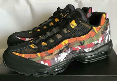 c26d6bdf65 Nike Air Max 95 Erdl Party Athletic Fashion Casual Sneakers Ar4473 001 -  Size 14