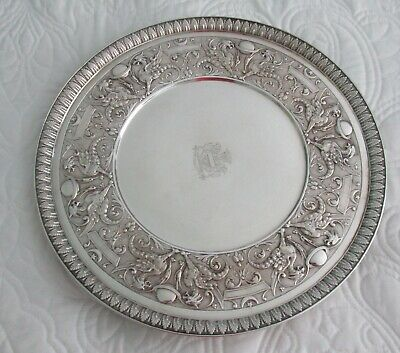 Early Sterling Tiffany Salver International Exposition Union Square C. 1875
