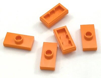Lego Yellow Plate Modified 1X2 Stud Jumper 150 Pieces NEW