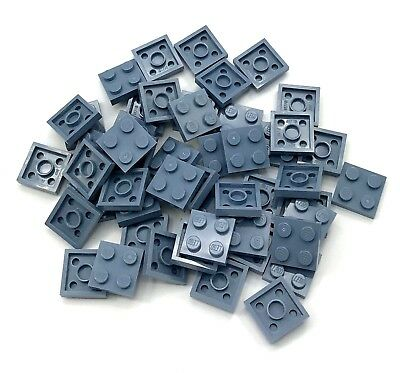 Lego 1x3 Plate Sand Blue Lot of 6 NEW
