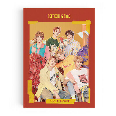 SPECTRUM - Refreshing Time (3rd Single) CD+Photobook+2Photocards+Tracking no.