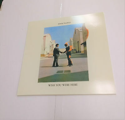 PINK FLOYD Wish You Were Here RARE Green Disc Vinyl Record Album