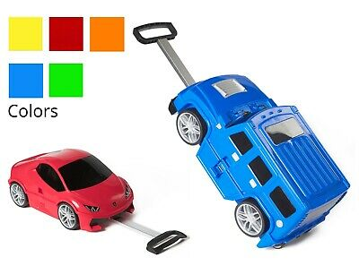 Kids Hard Case Luggage Carry On Rolling Suitcase Gift For Boys & Girls
